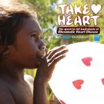 Poster of Take Heart documentary, supported by Aspen Foundation